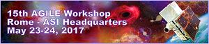 15th AGILE Workshop